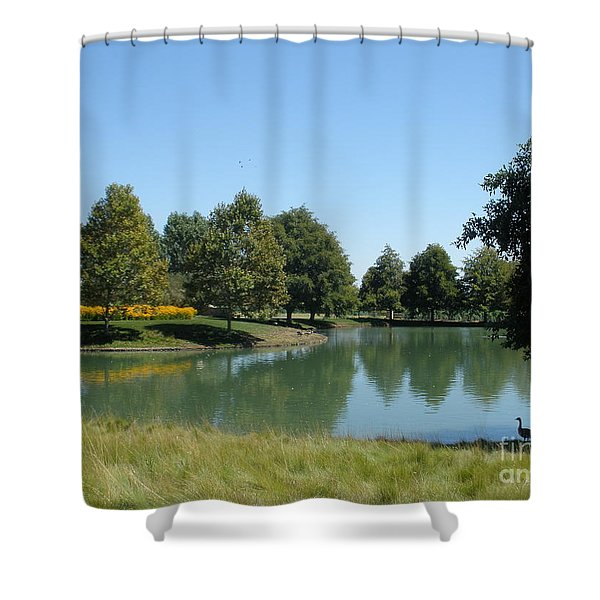 Time For A Dip Shower Curtain