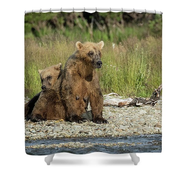 Time For A Nap Shower Curtain