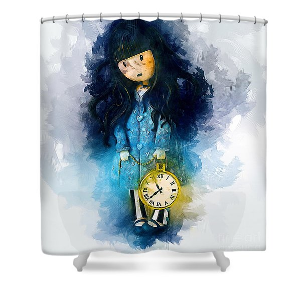 Time For Bed Shower Curtain