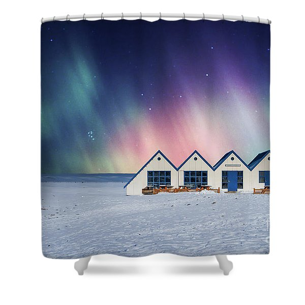 Time For Miracles Shower Curtain