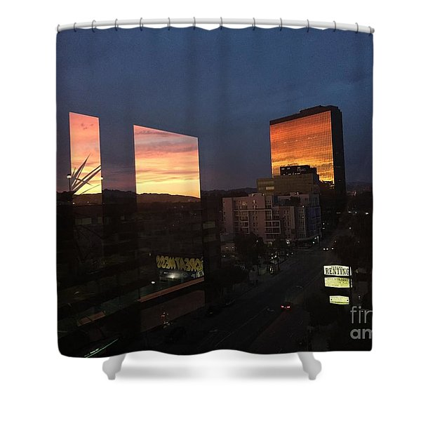 Time For Miro Shower Curtain