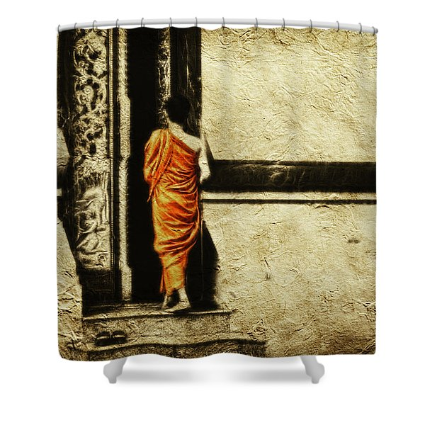 Time For Prayer Shower Curtain