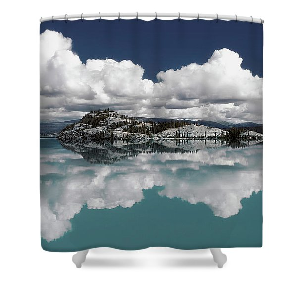 Time For Reflection Shower Curtain
