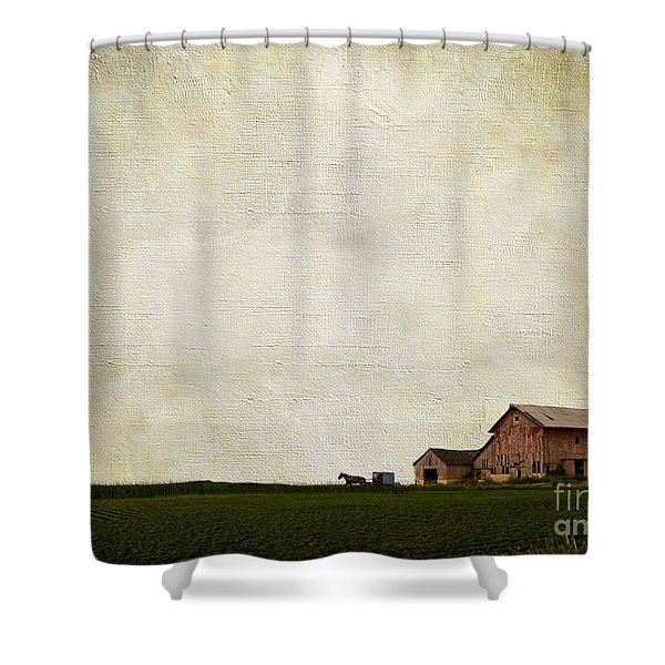 Time Forever Frozen Shower Curtain