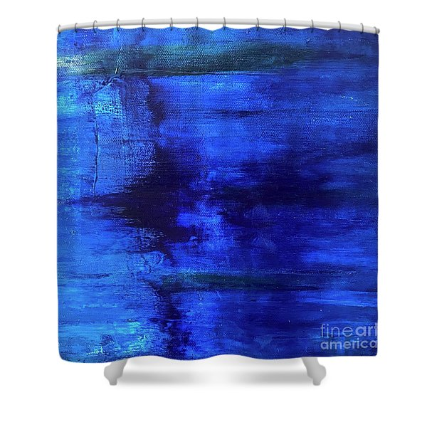 Time Frame Shower Curtain