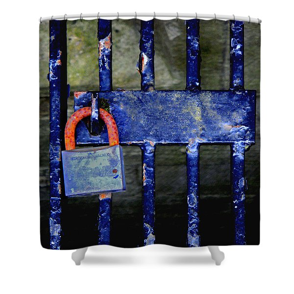 Time Hues Shower Curtain