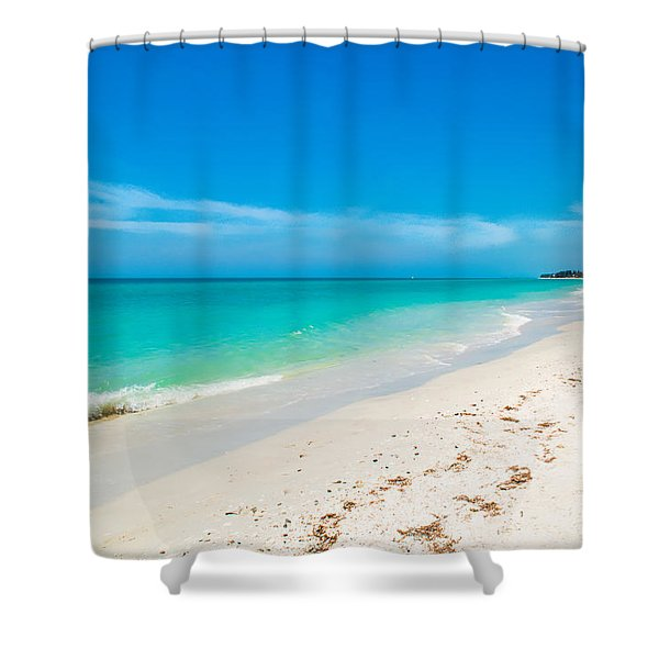 Time To Breathe Shower Curtain