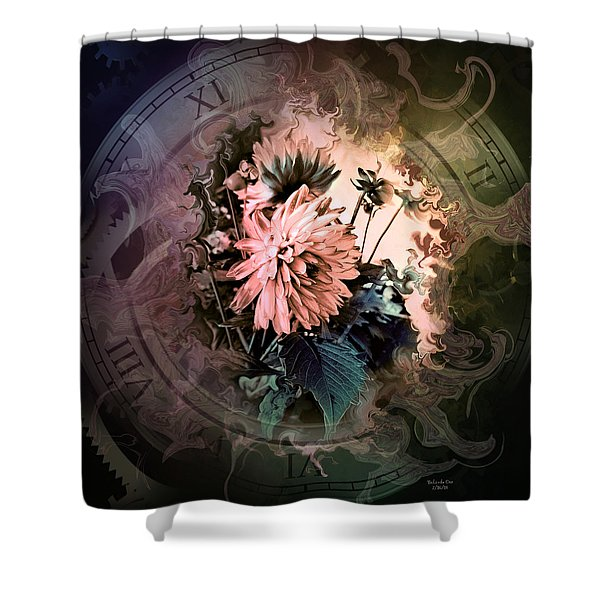 Timeless Dahlia Shower Curtain