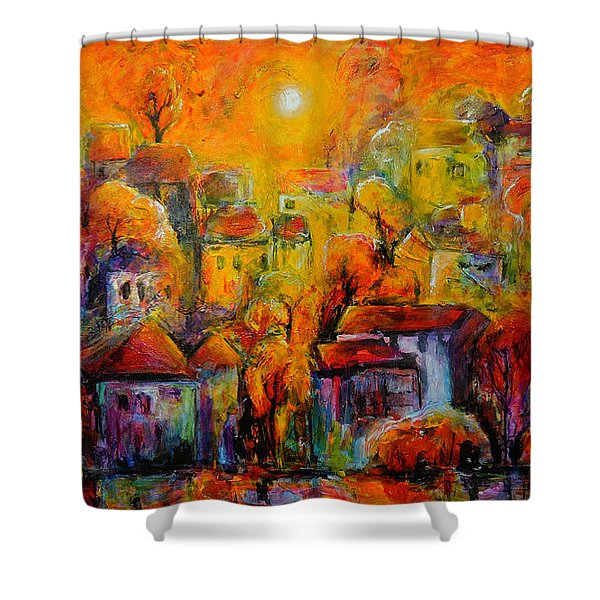 Timeless Paradise Shower Curtain