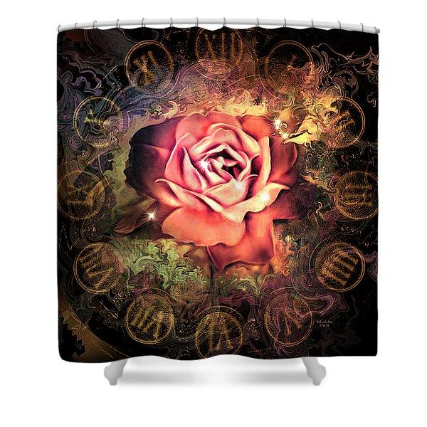 Timeless Rose Shower Curtain