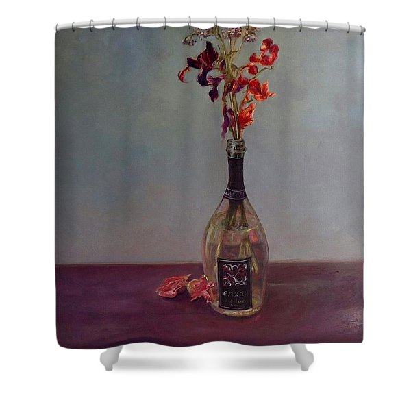 Lingering Shower Curtain