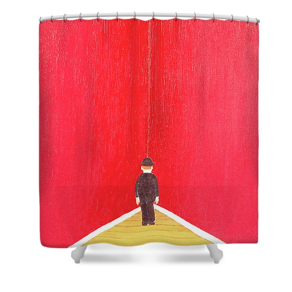Timeout Shower Curtain