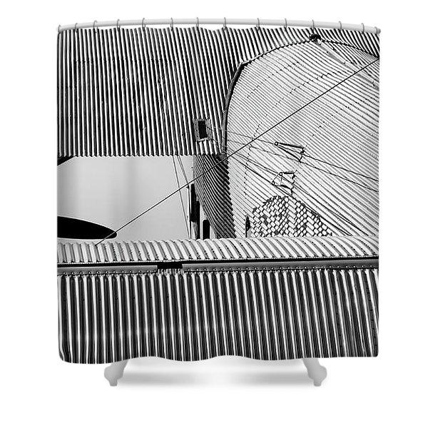 Tin Drag Shower Curtain