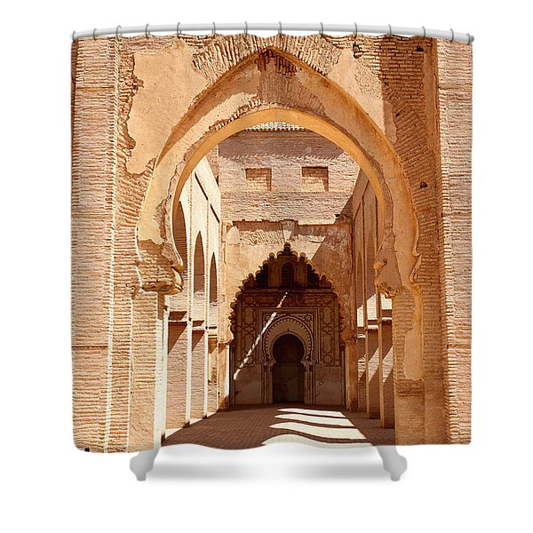 Tin Mal Mosque Shower Curtain by Axiom Photographic
