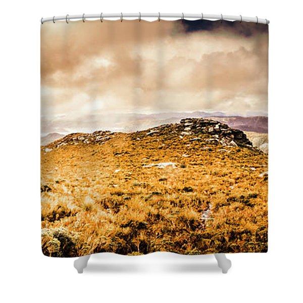 Tip Top Australia Shower Curtain