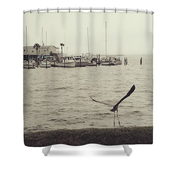 Tippy Toes Shower Curtain
