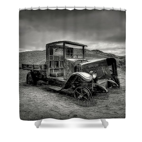 Tired Shower Curtain