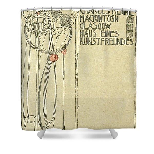Title Page For Haus Eines Kunstfreundes Shower Curtain