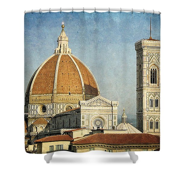 To Be Where You Are  Shower Curtain