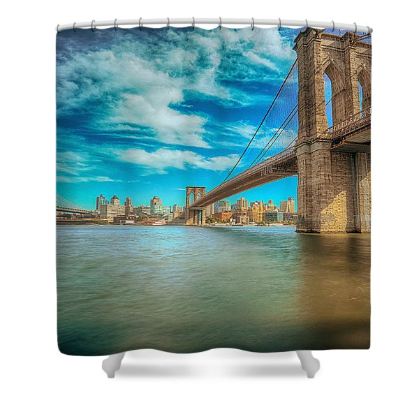 To Brooklyn And Back Shower Curtain