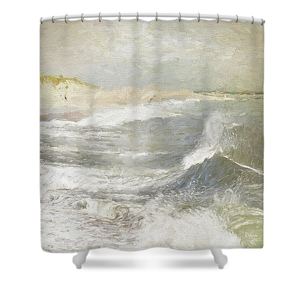 To Keep In View Shower Curtain