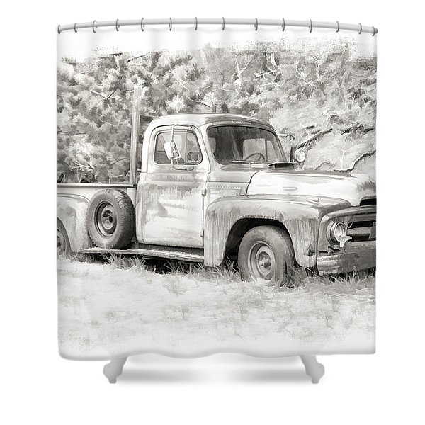 To Load Or Be Loaded Shower Curtain