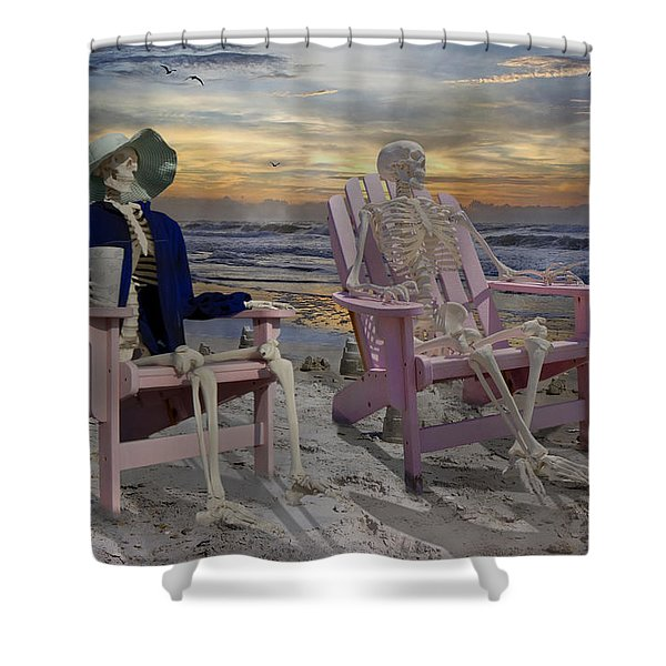 To See Another Sunrise Shower Curtain