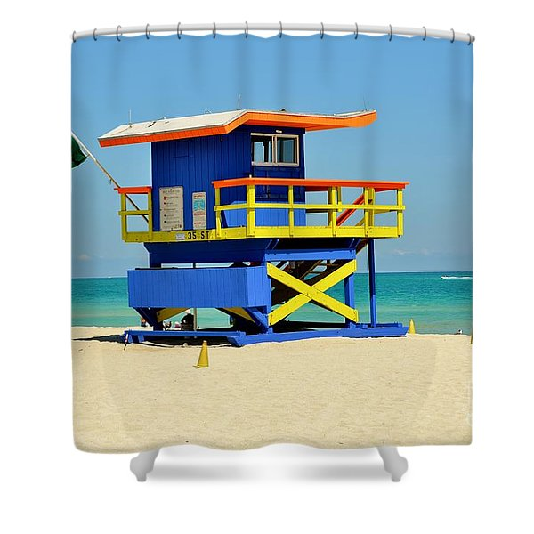 To The Rescue 1 Shower Curtain