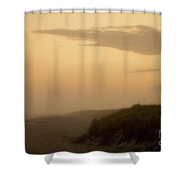 Tobay Beach Long Island Shower Curtain