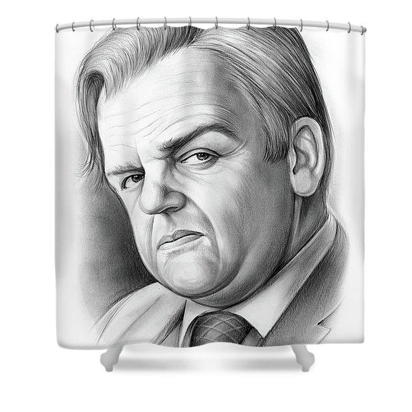 Toby Jones Shower Curtain