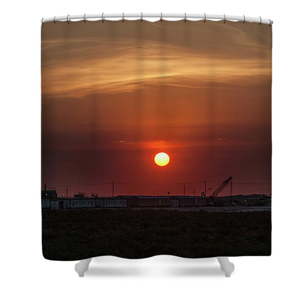 Today's Competition Shower Curtain