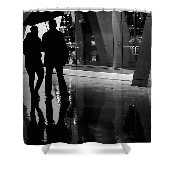 Together We Were  Shower Curtain