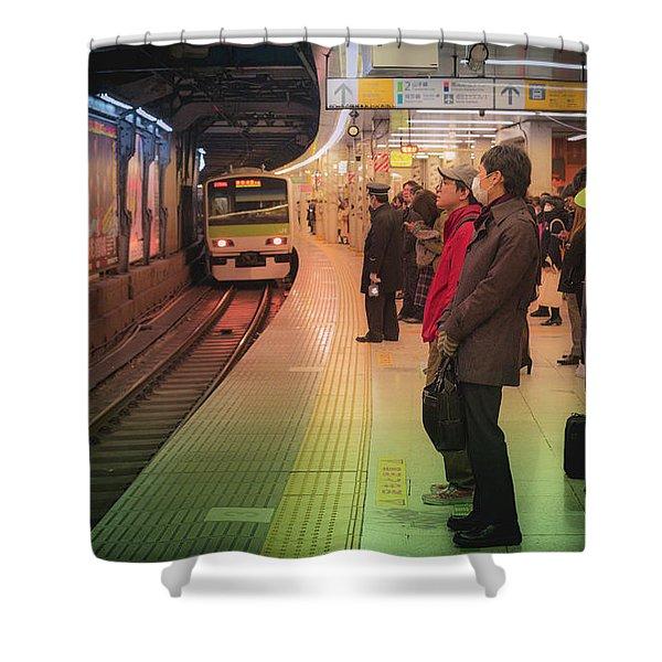 Tokyo Metro, Japan Shower Curtain