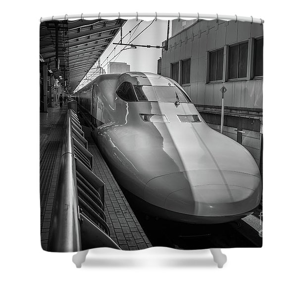 Tokyo To Kyoto Bullet Train, Japan 3 Shower Curtain