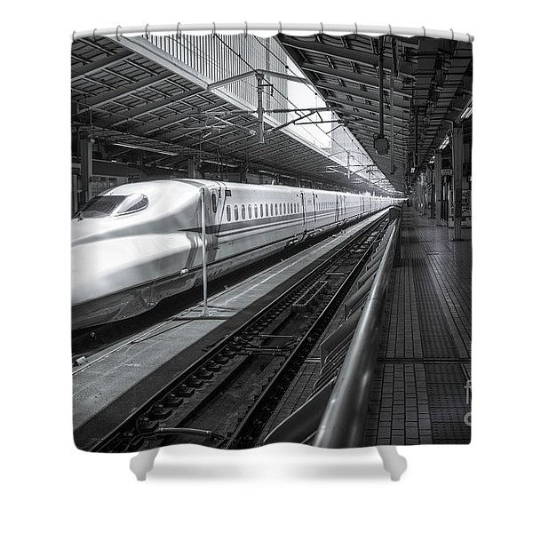 Tokyo To Kyoto, Bullet Train, Japan Shower Curtain