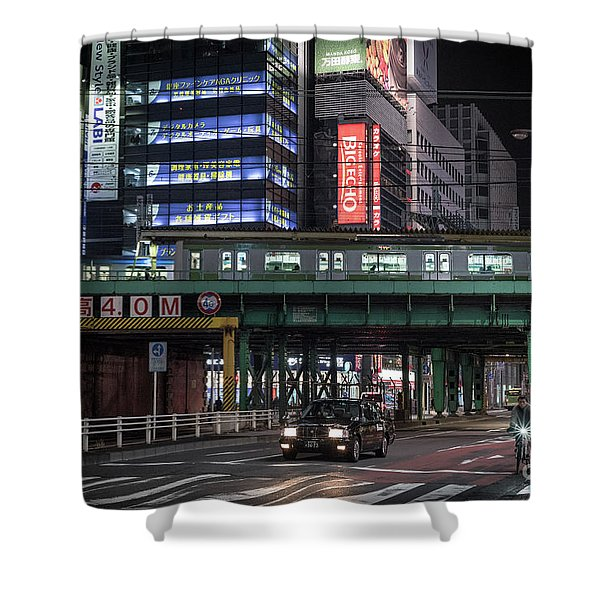 Tokyo Transportation, Japan Shower Curtain