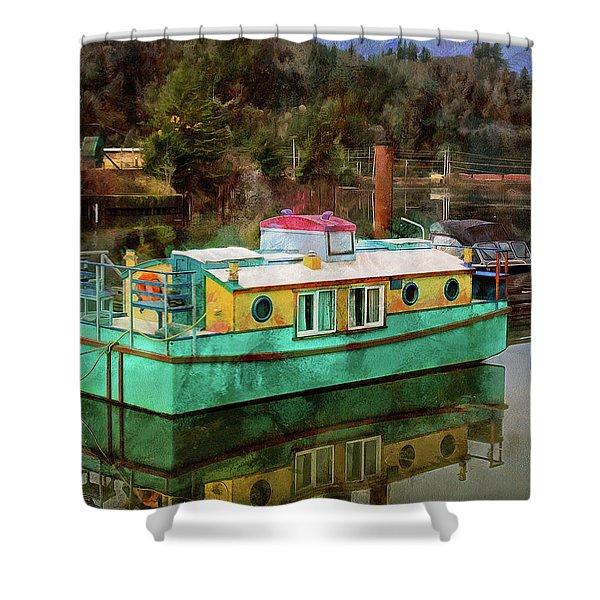 Toledo Showboat Shower Curtain