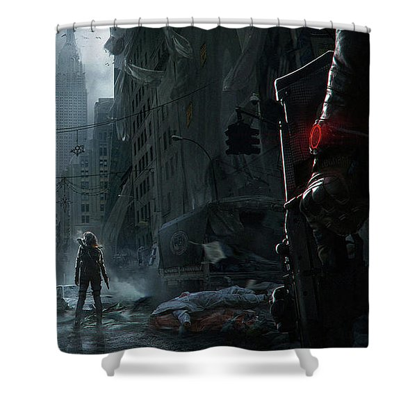Tom Clancy's The Division Shower Curtain