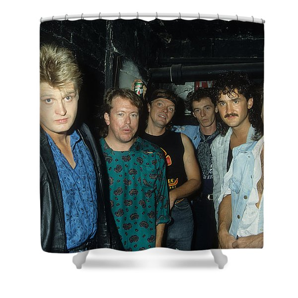 Tom Cochrane And Red Rider Shower Curtain