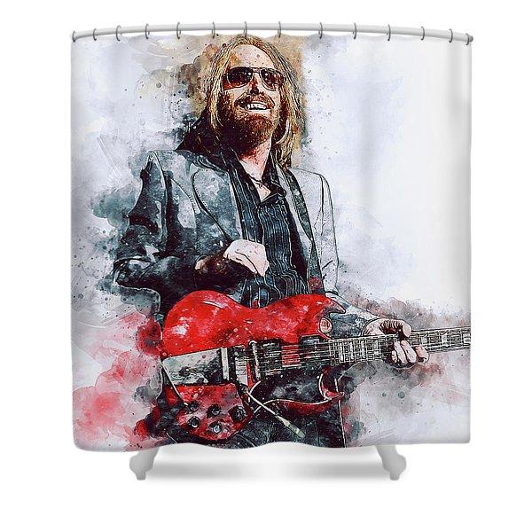 Tom Petty - 21 Shower Curtain