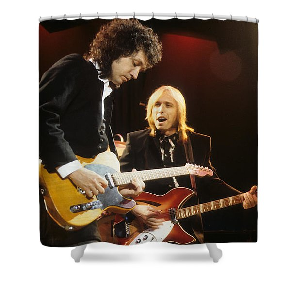 Tom Petty And Mike Campbell Shower Curtain