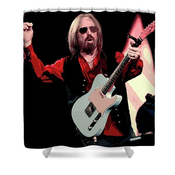 Tom Petty, Hypnotic Eye Shower Curtain
