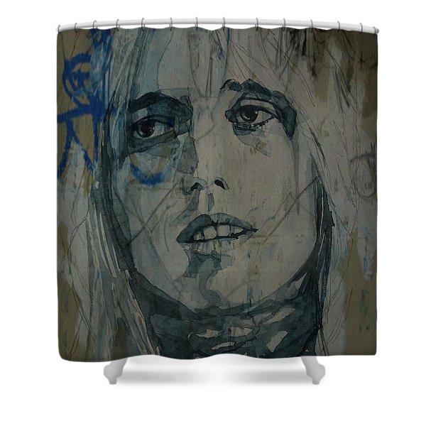 Tom Petty  Shower Curtain