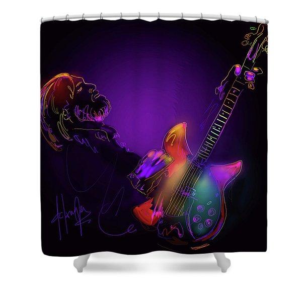Tom Petty Tribute 1 Shower Curtain