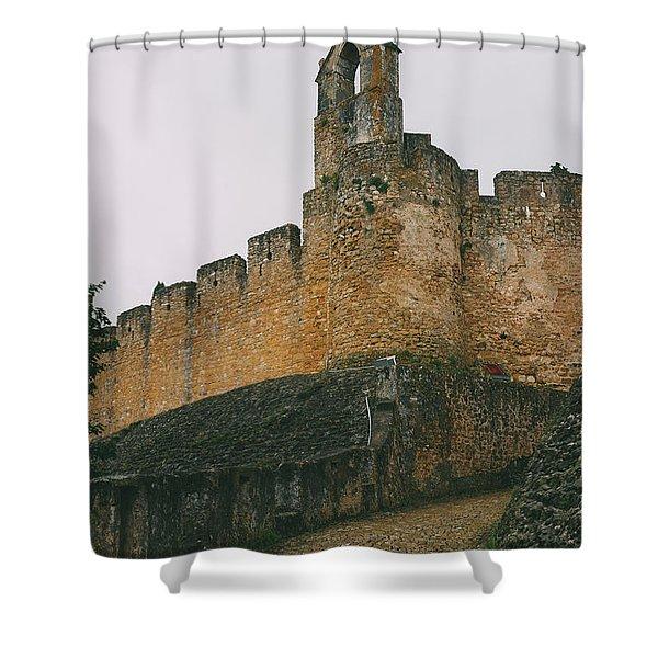 Tomar Castle, Portugal Shower Curtain