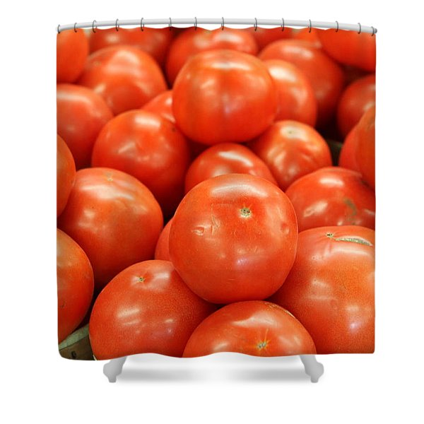 Tomatoes 247 Shower Curtain