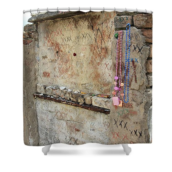 Tomb Of The Unknown Voodoo Priestess Shower Curtain