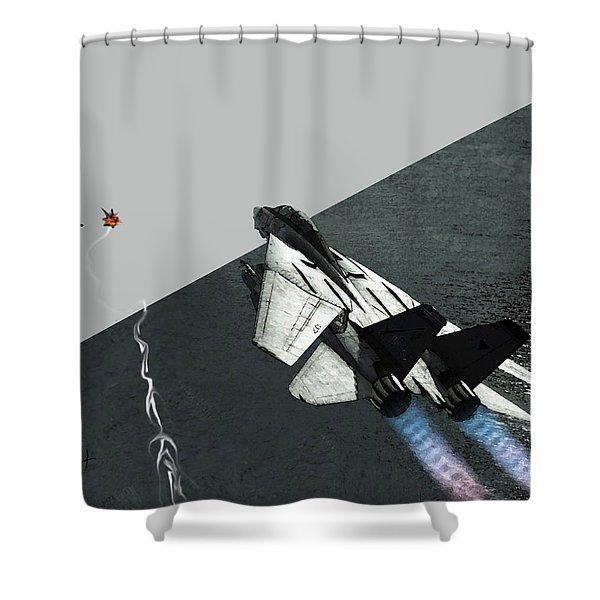 Tomcat Kill Shower Curtain