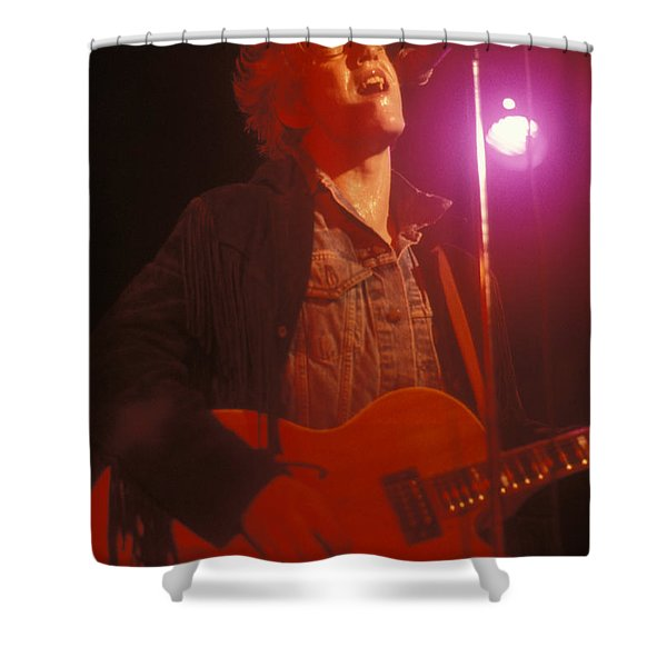 Tommy Conwell Shower Curtain