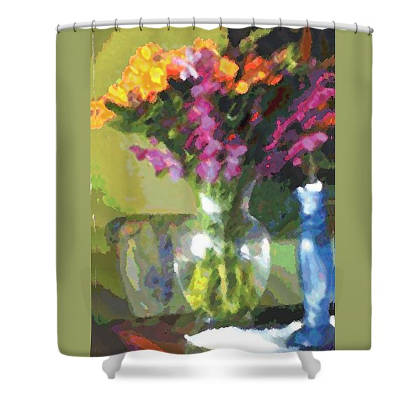 Tomorrow Morning Shower Curtain